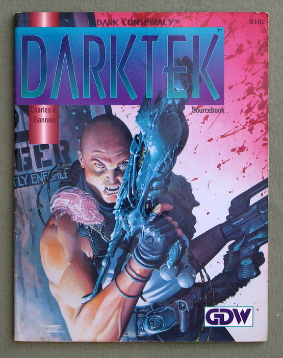 Image for Darktek Sourcebook (Dark Conspiracy)