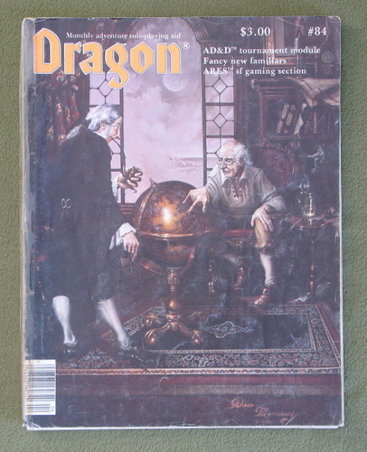 Image for Dragon Magazine, Issue 84 - WORN