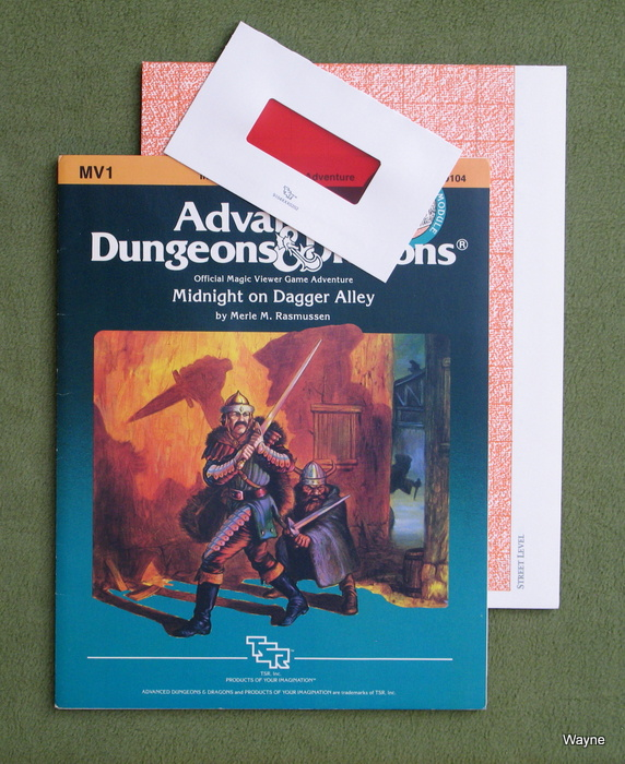 Image for Midnight on Dagger Alley (Advanced Dungeons and Dragons Module MV1)