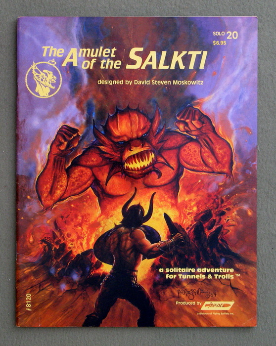 Image for Amulet of the Salkti (Tunnels & Trolls #20)
