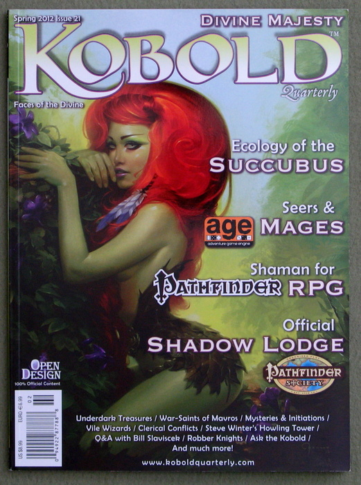 Image for Kobold Quarterly Magazine, Issue 21