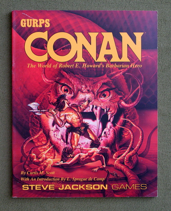 Image for GURPS Conan