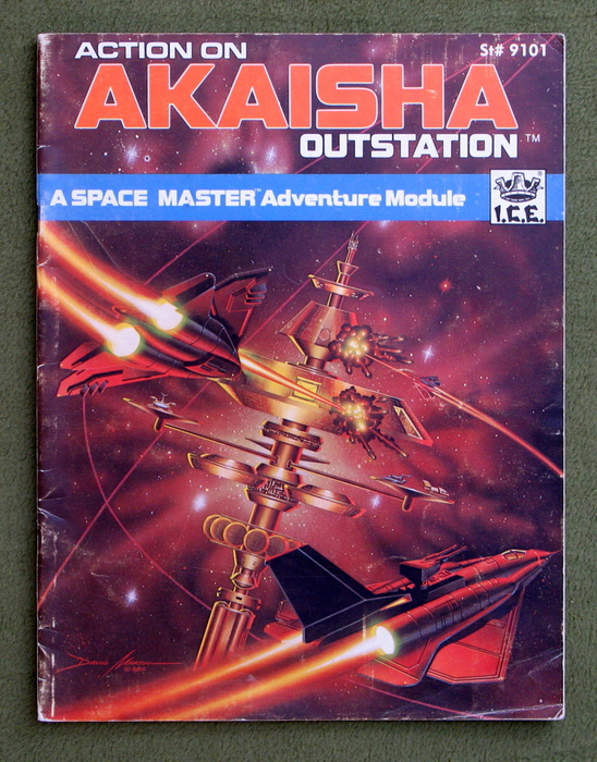 Image for Action on Akaisha Outstation (Space Master RPG) - PLAY COPY