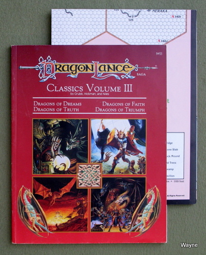 Image for Dragonlance Classics, Volume 3 (Advanced Dungeons & Dragons module DLC3)