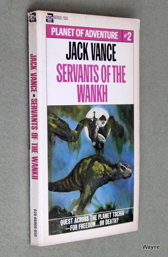 Image for Servants of the Wankh: Planet of Adventure #2 (Ace 66900)