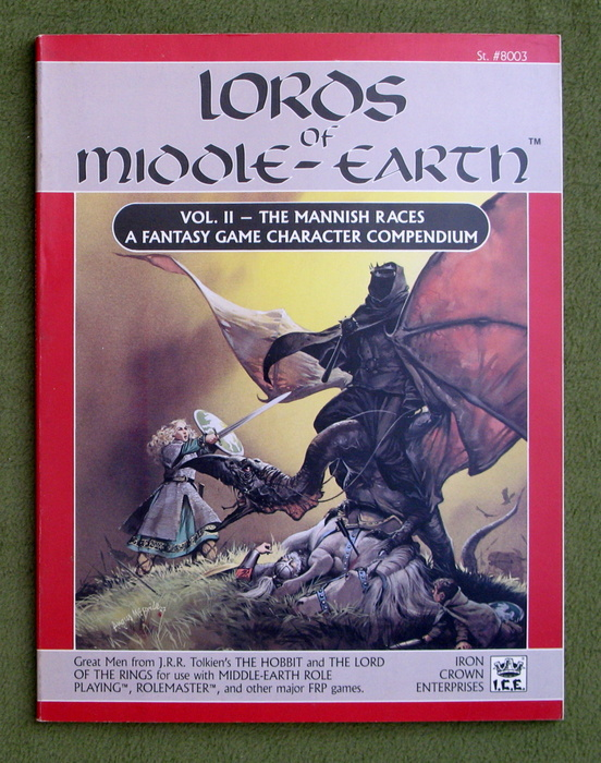 Image for Lords of Middle-Earth Vol 2: The Mannish Races (Middle Earth Role Playing/MERP)