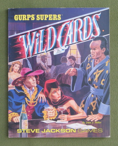 Image for GURPS Wild Cards
