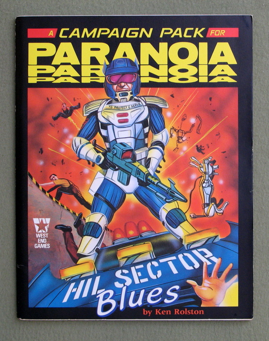 Image for HIL Sector Blues (Paranoia Campaign Pack)