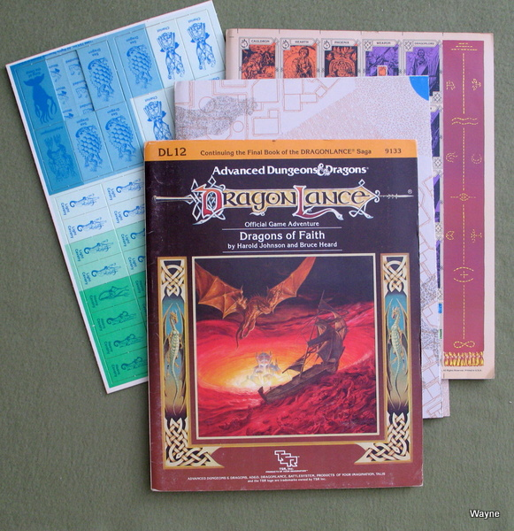 Image for Dragons of Faith (Advanced Dungeons & Dragons: Dragonlance Module DL12)