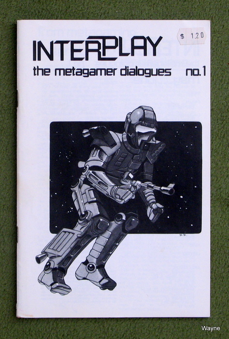 Image for Interplay Magazine: The Metagamer Dialogues, Issue 1