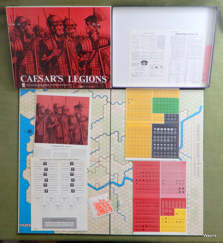 Image for Caesar's Legions: Wargame of Ancient Rome