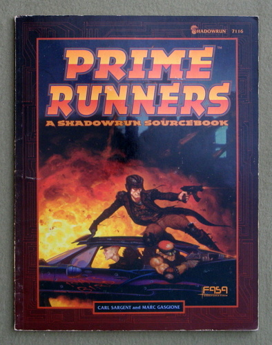 Image for Prime Runners: A Shadowrun Sourcebook - PLAY COPY
