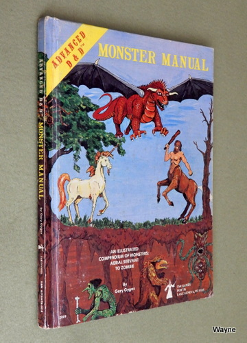 Image for Monster Manual (Advanced Dungeons & Dragons, 1st Edition) - PLAY COPY