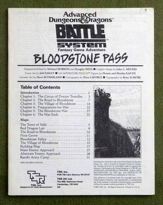 Image for Bloodstone Pass - Scenario Booklet