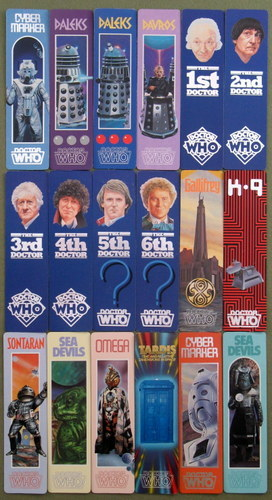 Image for Doctor Who Bookmarks: Who Dares Series of 18