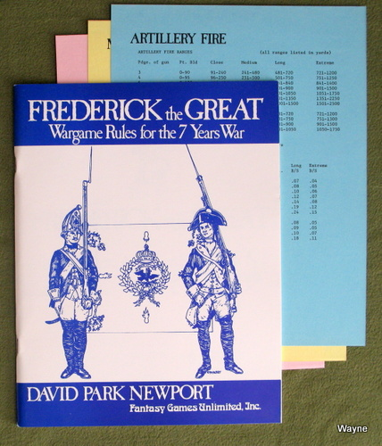 Image for Frederick the Great: Wargame Rules for the 7 Years War