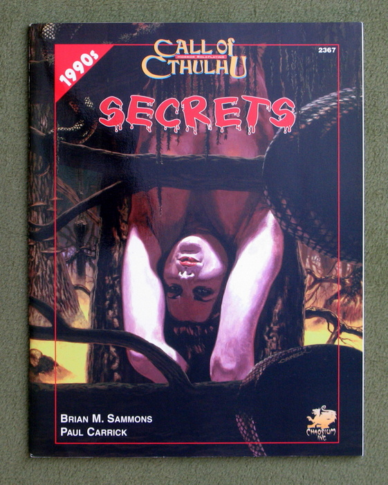 Image for Secrets (Call of Cthulhu)
