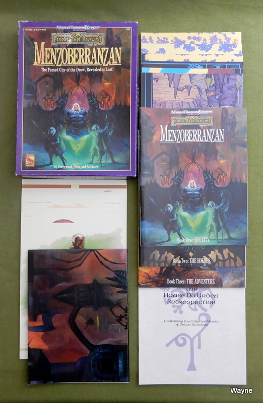 Image for Menzoberranzan (Advanced Dungeons & Dragons: Forgotten Realms)