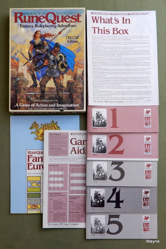 Image for RuneQuest: Deluxe (3rd) Edition