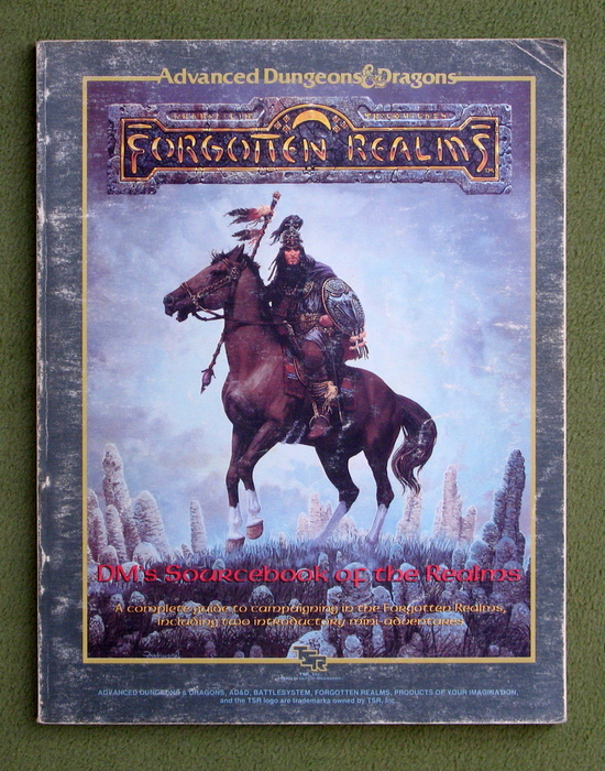 Image for DM's Sourcebook of the Realms (Advanced Dungeons & Dragons: Forgotten Realms) - PLAY COPY