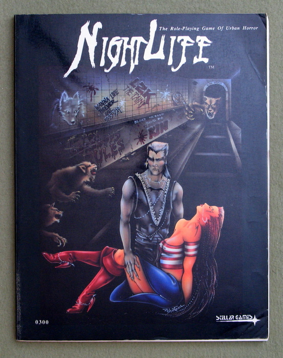 Image for NightLife : The Role-Playing Game of Urban Horror (2nd Edition) - PLAY COPY