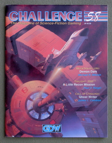 Image for Challenge Magazine, Issue 58