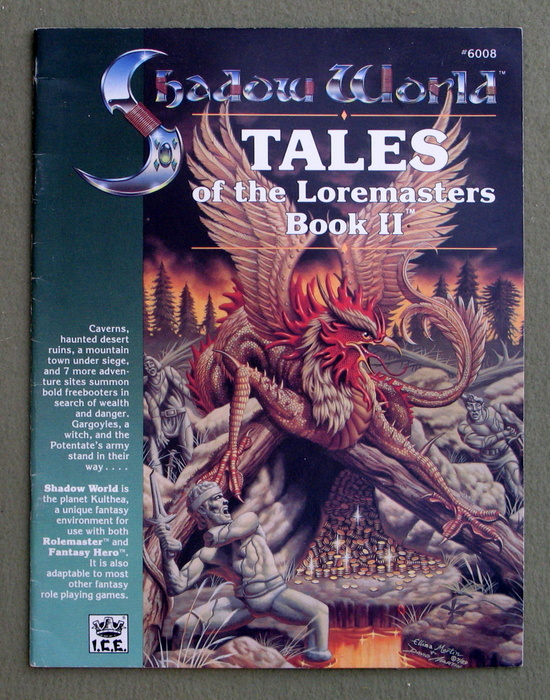 Image for Tales of the Loremasters, Book 2 (Rolemaster / Shadow World)
