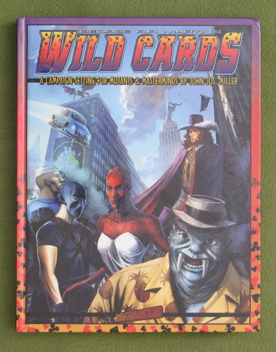 Image for Wild Cards: A Campaign Setting for Mutants & Masterminds