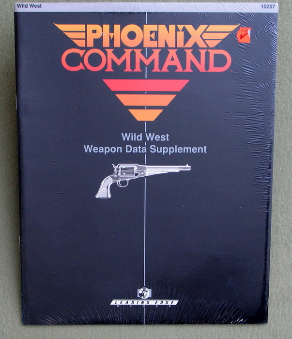 Image for Wild West Weapon Data Supplement (Phoenix Command)