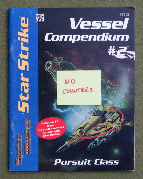 Image for Star Strike: Vessel Compendium No. 2 - Pursuit Class (Space Master RPG) - NO COUNTERS