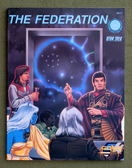 Image for The Federation: A Handbook of Information on the United Federation of Planets (Star Trek: The Role Playing Game)