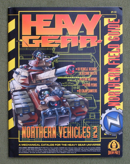 Northern Vehicles 2: Northern Field Guide (Heavy Gear)