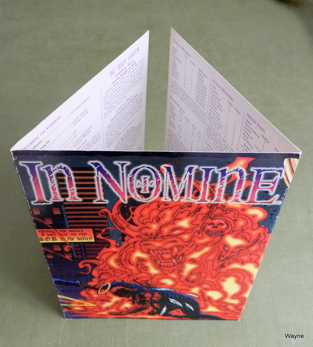 Image for In Nomine - GM Screen