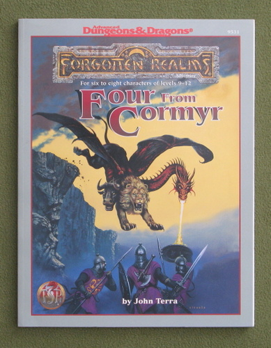 Image for Four from Cormyr: 4 Forgotten Realms Adventures (Advanced Dungeons & Dragons)