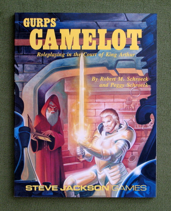 Image for GURPS Camelot: Roleplaying in the Court of King Arthur