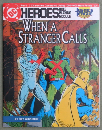 Image for When a Stranger Calls (DC Heroes Role Playing Module)