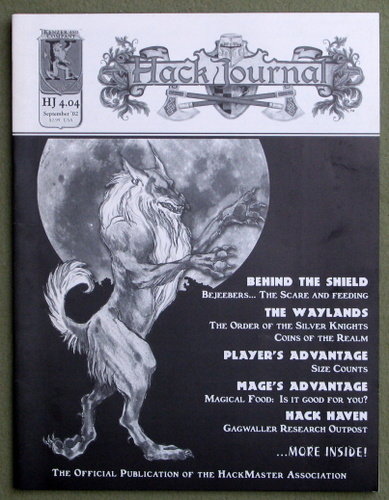 Image for HackJournal: The Official Publication of the Hackmaster Association (Issue 4 - Sept 2002)