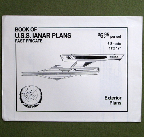 Image for U.S.S. Ianar Plans: Fast Frigate