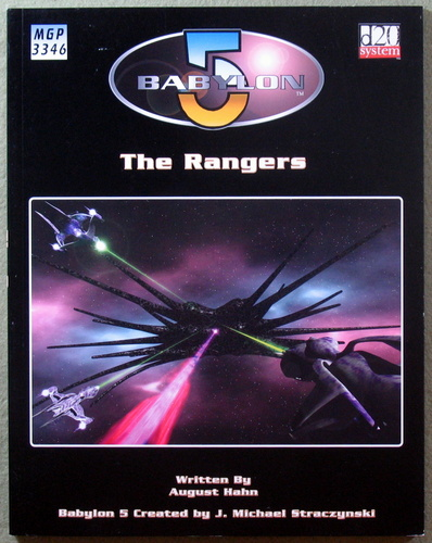 Image for The Rangers (Babylon 5 Roleplaying Game RPG)