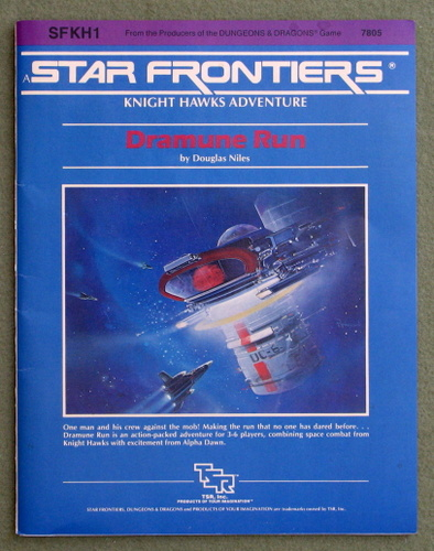 Image for Dramune Run (Star Frontiers module SFKH1)