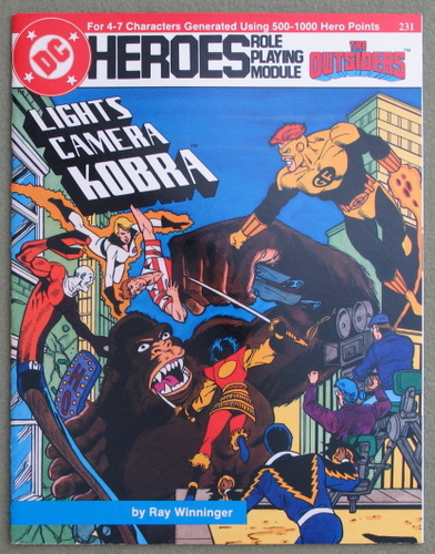 Image for Lights Camera Kobra (DC Heroes RPG)