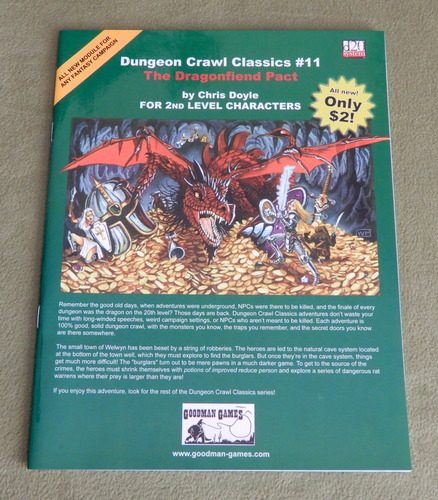 Image for Dungeon Crawl Classics 11: The Dragonfiend Pact