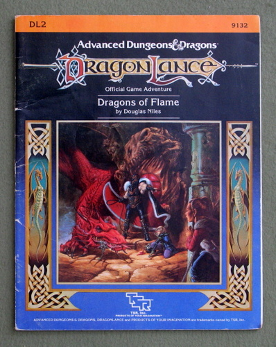 Image for Dragons of Flame (Advanced Dungeons & Dragons: Dragonlance module DL2) - PLAY COPY