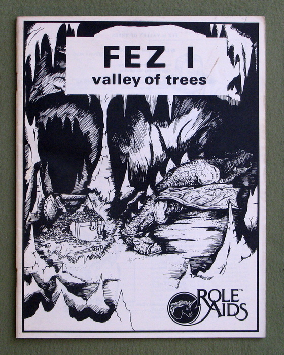 Image for FEZ I: Valley of Trees (Role Aids) - NO COVER FOLDER
