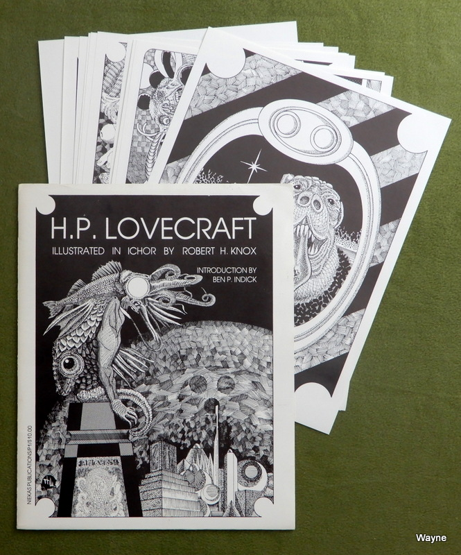 Image for H. P. Lovecraft: Illustrated in Ichor