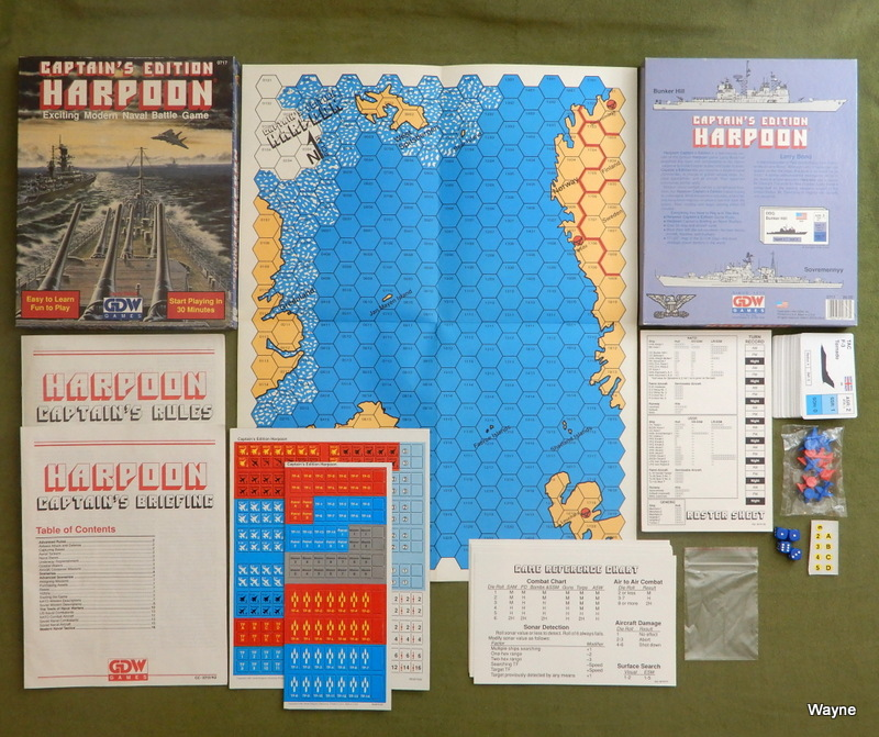 Image for Captain's Edition Harpoon: Modern Naval Battle Game