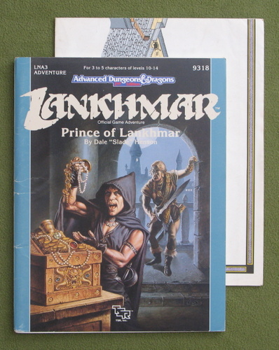 Image for Prince of Lankhmar (Advanced Dungeon and Dragons Module LNA3)