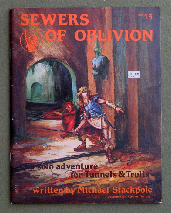 Image for Sewers of Oblivion (Tunnels & Trolls Solo Adventure #13)