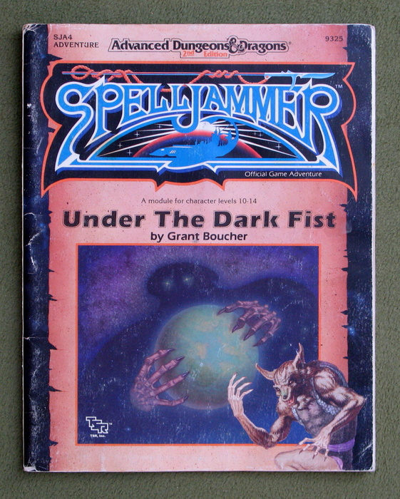 Image for Under the Dark Fist (Advanced Dungeon & Dragons/Spelljammer Module SJA4) - NO MAP