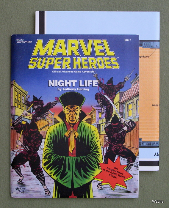 Image for Night Life (Marvel Super Heroes Module MLA3)